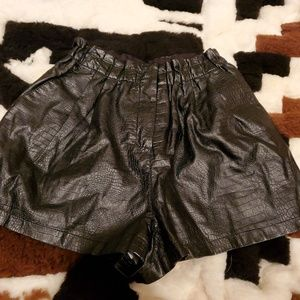 Sparkle in Fade vegan high waist shorts size  XS